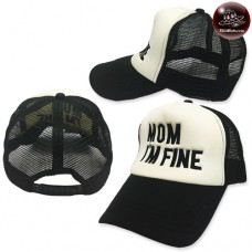 Mom net cap i am fine mom cap