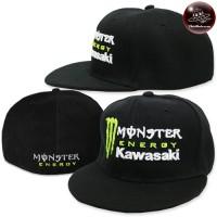 Cap Monsterl Black Hat,