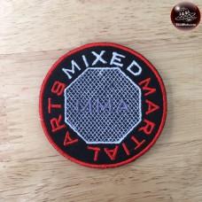 MMA shirt collar with MMA logo