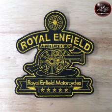 Royal Enfield shirt with royal design, royal enfield. Royal embroidered enfield shirt