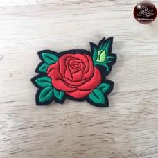 Flower embossed label Flower dressing Flower Arrangement Embroidered Flower Arms