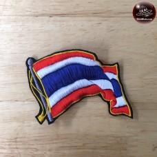 Armpit with Thai flag Thai Flags logo