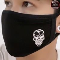Fashionable fabric  skull