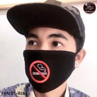 Fashionable fabric  NO SMOKING